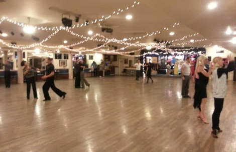 Ballroom Students Hard at Work!